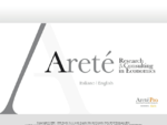 Index Areté - Research Consulting in Economics