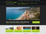 Argento Hotel - 3 Stelle Finale Ligure - Albergo Finale Ligure - Alberghi mare Riviera Ligure