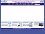Wireless internet hotspots, internet kiosk software, and in-room captive portal internet billing .
