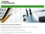 Arkadia Accounting Oy Helsinki - tilitoimisto Vantaa sekä Espoo