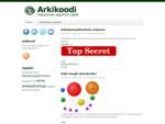 Arkikoodi | Hakukoneen algoritmin jäljillä