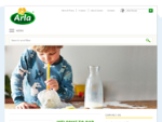 Welcome to arla. com - Arla Foods is the dairy cooperative who delivers dairy products that provides