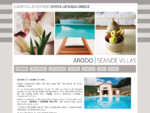Lefkada Villas. Seaside holiday villas with private pools. Sivota, Lefkada Lefkas , Greece, villas ...