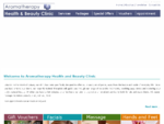 Aromatherapy clinic