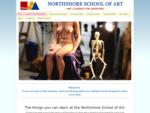 Homepage of Northshore School of Art