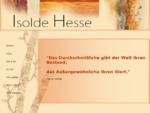 Isolde Hesse - Kunst - Malerei - Gerolsheim
