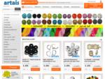 Koraliki, półfabrykaty i akcesoria do biżuterii, modelina, zestawy koralików do wyrobu biżuterii