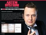 Сайт Петербургского ведущего Артема Быстрова - интеллигентный ведущий на юбилей, конферансье, тама