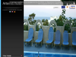 Artemis Hotel in Kamari - Santorini island, Cyclades Greece
