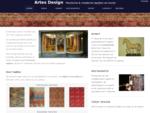 Perzische moderne tapijten en kunst