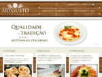 ArtGusto Gastronomia - Massas artesanais, molhos e sobremesas da cozinha italiana