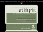 Art Ink Print | Your printer for fine art printing