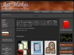 ArtMakis - Ασημένια δώρα, κορνίζες, εικόνες, βαφτιστικά και κοσμήματα.