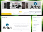 Artra OÜ | Строительство. Стальные двери и пластиковые окна. Продажа, установка, сервис.
