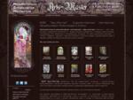 Арц-мастер | Художественная мастерская в Москве изготовление витражей Тиффани на заказ, световые п