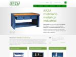ARZA - mobiliario metálico para taller, muebles metálicos, bancos de trabajo, cajas de herramient