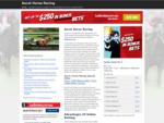 Ascot Horse Racing | Horse Racing Calendar, Events and Fixtures