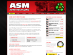 Car Salvage Auction, Auto Breakers Scrap Yard | ASM Auto Recycling