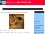 Aspen Saunas