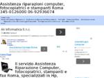 Assistenza Riparazione Computer a Roma, Fotocopiatrici, stampanti e fax hp, samsung, brother, ...