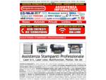 assistenza stampanti hp, epson, lexmark, ibm, canon, minolta, nashuatech, ricoh, minolta, oky, ...