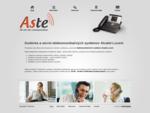 Dodávka a servis telekomunikačných systémov Alcatel-Lucent | ASTE, spol. s r. o.