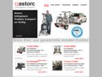 Astorc Inklapbare Aanhangwagens Trailer2bike, Scootwagen, Custom Trailer voor vervoer van Elektris
