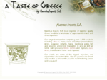 Mavrikos Imports - Exporter of Greek food, wine, ouzo, olive oil, brandy, fish