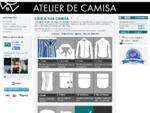 camisas on-line por medida personalizadas para homem - Atelier de Camisa