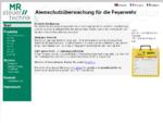 Atemschutzüberwachung / Atemschutzüberwachungstafel für die Feuerwehr!