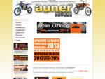 AUNER - Importer części, akcesorii motocyklowych. Autoryzowany dealer KTM HUSABERG, dystrybutor