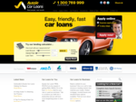 Aussie Car Loans - Cheap Car Finance - Loans - Insurance