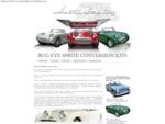 Convert any Austin Healey Mk2, Mk3 or MG Midget to the classic Austin Healey MkI bug-eye or frog-ey