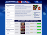Best Australian Casinos Online - Top Aussie Casino Sites