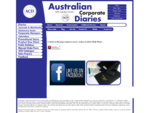 Australian Corporate Diaries - Black, Custom Company Diary Suppliers