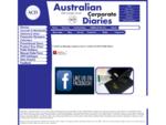 Australian Corporate Diaries - Black, Custom Company Diary Suppliers