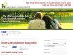 Debt Consolidation Specialists | Australian Lending Centre
