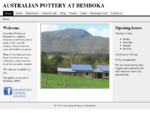 Australian Pottery at Bemboka