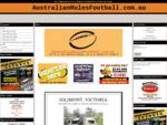 Home - AustralianRulesFootball. com. au
