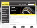 Prodej letní i zimní pneu a náhradních dílů pro auta