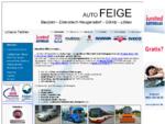 Auto Feige Scania Iveco Fiat Professional Multicar Bosch Service ad Autodienst ...