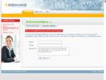 autoanzeigen.at im Adomino.com Domainvermarktung Netzwerk