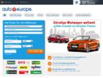 Mietwagen ab 9 €Tag mit Auto Europe