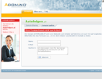 autofelgen.at im Adomino.com Domainvermarktung Netzwerk