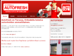 Autofresh on Turussa, Orikedolla toimiva täyden palvelun autojen pesuihin, vahauksiin ja sisätiloj