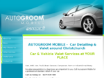 Mobile Car Detailing Christchurch, Car Valet, car cleaning Chch,