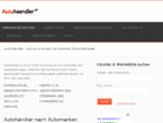 Autohändler-Verzeichnis und Gebrauchtwagen-Börse KG