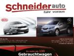 Auto Schneider - Der Opel und Kia Autohändler