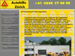 Autohilfe Zürich - Pannendienst, Abschleppdienst, Unfallbergung, Transporte