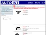 AutoINT - BMW SAAB MINI varuosad